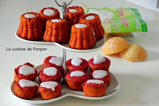 recette Muffin à la betterave rouge et confiture de gingembre