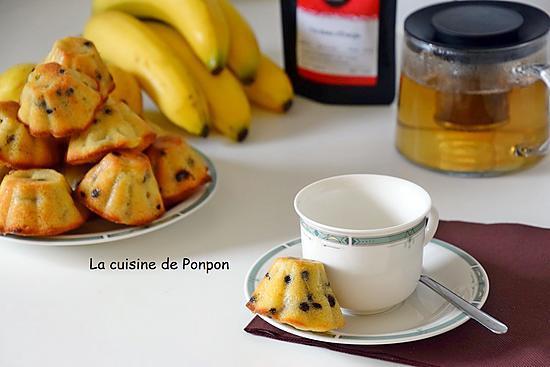 recette Muffin à la banane, poire et lait de coco