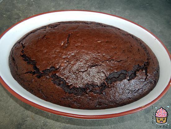 recette GÂTEAU CHOCOLAT/COURGETTE
