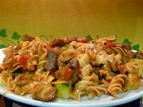 recette de pates orientale