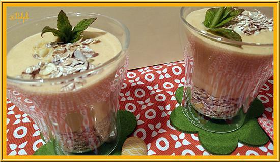 recette Mousses d'Abricots légères