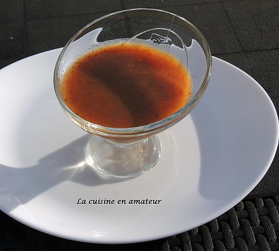 recette Gaspacho tomates pastèque