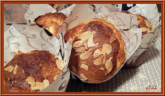 Recette de Muffins au Chocolat Amande