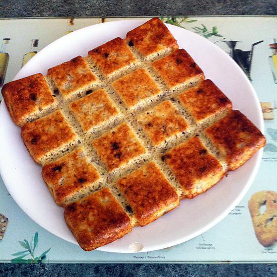recette Gâteau aux bananes et flocons d'avoine