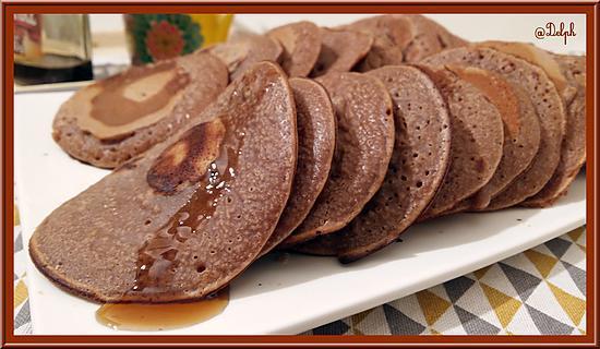 recette Pancakes à la farine de Châtaigne