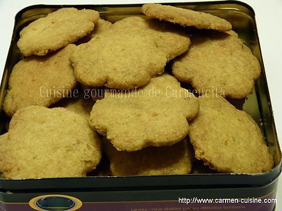 recette Biscuits au gingembre frais et citron vert