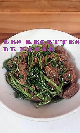 recette Boeuf au cresson