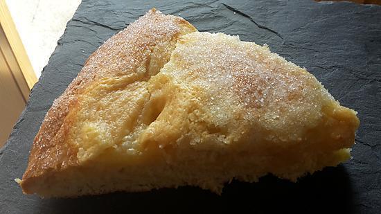 recette Tarte au sucre briochée