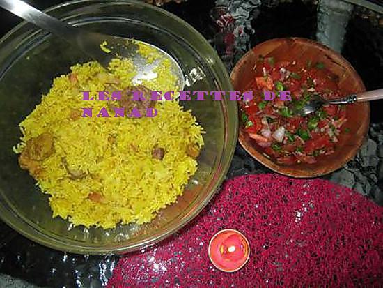 recette Pilao (riz épicé)