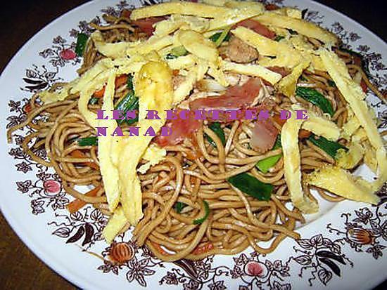 Recette de mines frites de l le maurice nouilles saut es - Cuisine mauricienne chinoise ...