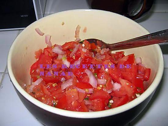 recette Satini pomme d'amour (tomate)