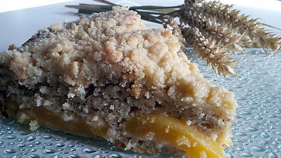 recette Gâteau aux petits suisses, amande, abricots et huile d'olive