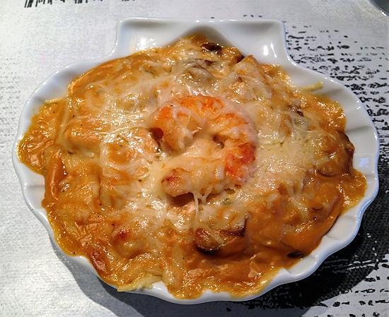 recette de coquilles de poisson et crevettes sauce nantua thermomix. Black Bedroom Furniture Sets. Home Design Ideas