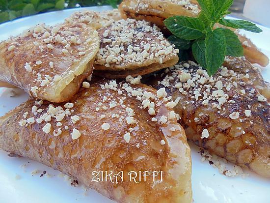 recette KATAYEFS LIBANAIS A LA CRÈME ( ATAYEFS BEL ACHTA)