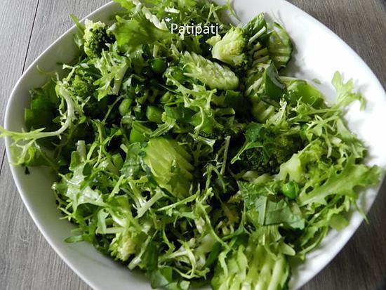 recette La vie en vert pour cette salade