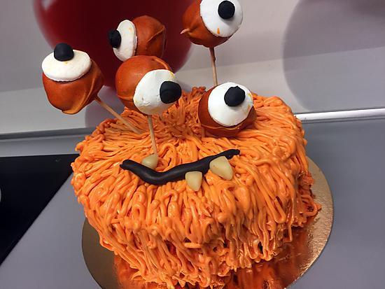 recette Le Monstre d'Halloween