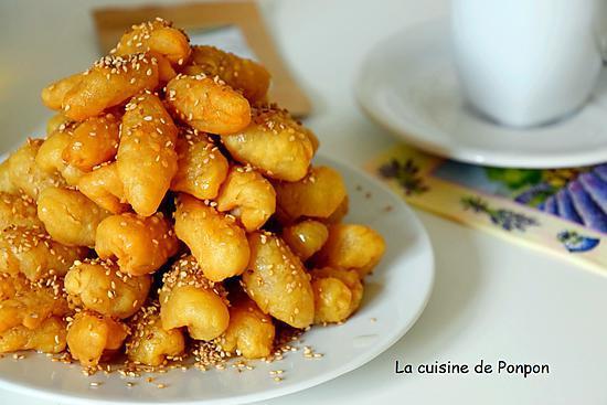 recette Les doigts de Zineb, petit gâteau oriental au mie