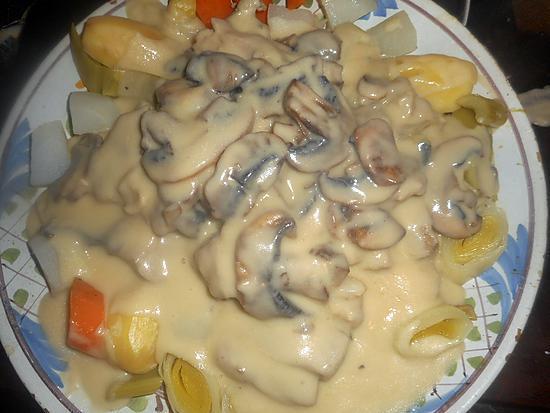 recette Blanquette de veau ménagére