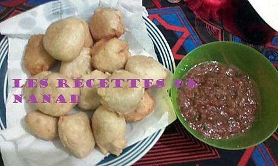 recette Chana puri (beignet fourré au pois cassé)