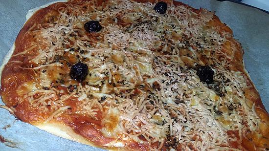 recette Pizza sauce barbecue