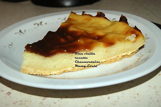 recette Flan vieille recette Chaumontoise