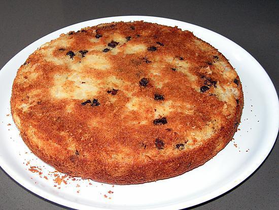 recette Gâteau aux poires et chocolat pour les 2 ans de Lydie