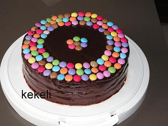 recette Gâteau aux smarties pour les 2 ans de Lydie