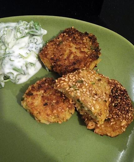 recette croquettes pois chiches et carottes
