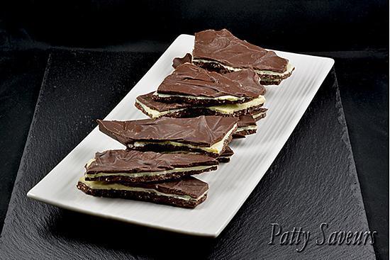 recette Plaque Triple Chocolat Praliné