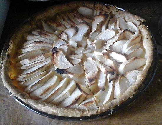 recette Tarte aux pommes à la pâte brisé