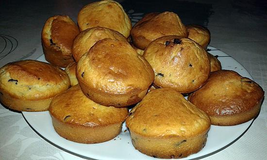 recette Muffins pépites de chocolat-noix de coco
