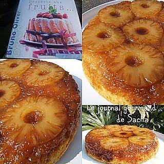 recette Gâteau caramélisé à l'ananas