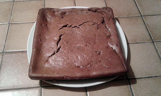 recette Gâteau fondant à la ricotta, chocolat et poire