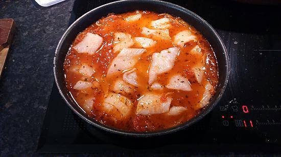 recette Cabillaud à la tomate