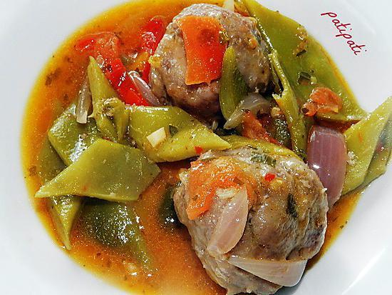 Les meilleures recettes de plat de tomate - Cuisiner les haricots plats ...
