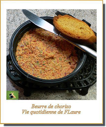recette Beurre de chorizo