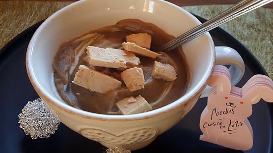 recette Crème de marrons et foie gras