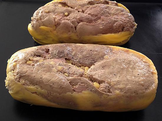 recette Foie gras à l' Armagnac au thermomix