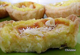 recette Petites tartelettes à la noix de coco