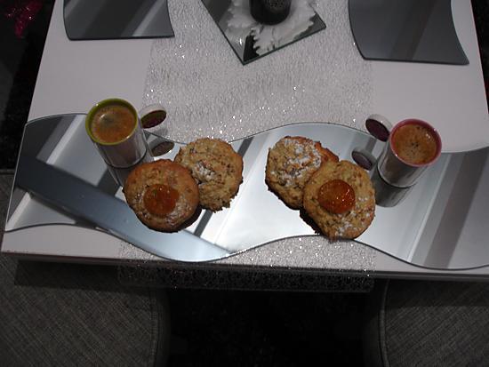 recette Les  cookies  de Lauranou aux flocons d'avoine et clémentines confites  au coeur de nutella