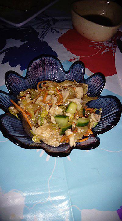 recette Salade froide au poisson