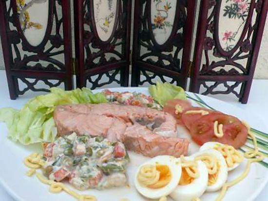 Les meilleures recettes de darne de saumon mayonnaise - Cuisiner darne de saumon ...