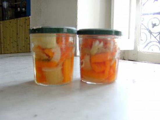 recette Conserves de carottes