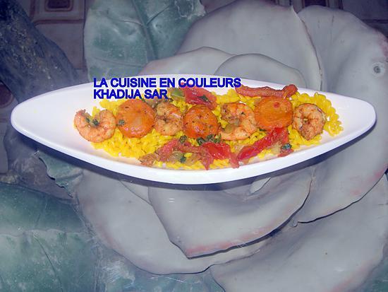 recette Salade de pâtes aux crevettes