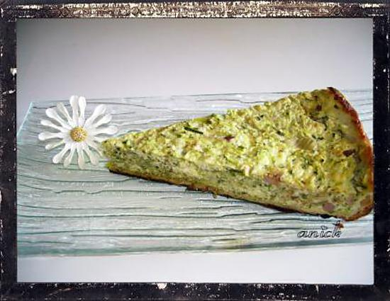 recette tarte courgette-brousse