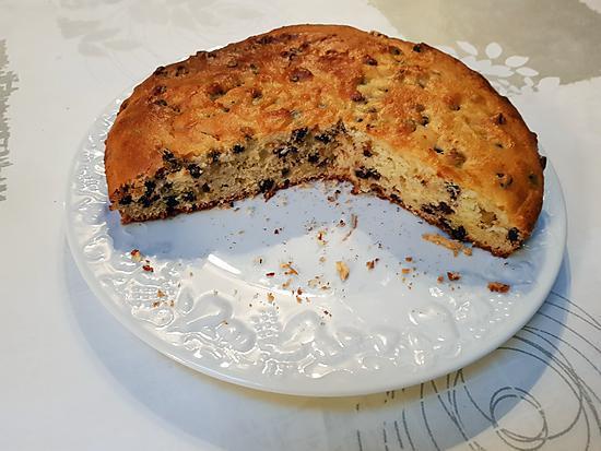 recette Gâteau à la ricotta et aux pépites de chocolat