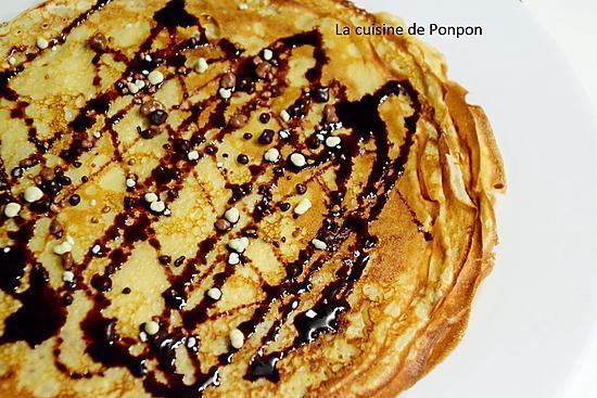recette Crêpes selon Pierre Hermé
