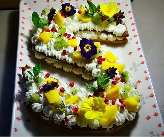 recette Letter Tart, le gâteau tendance de 2018 !