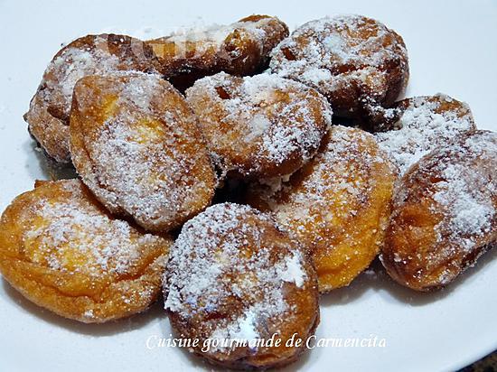 recette Beignets de patates douces et ananas