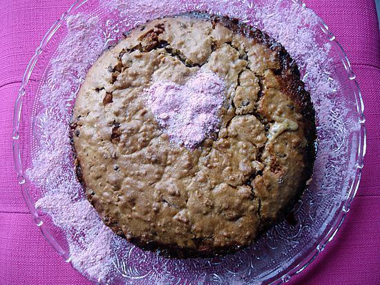 recette Un maxi biscuit cookie  aux pépites de chocolat et au  caramel  beurre salé maison